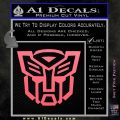 Autobot Decal Sticker Transformers ALT Pink Emblem 120x120