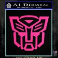 Autobot Decal Sticker Transformers ALT Pink Hot Vinyl 120x120