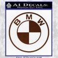 BMW Decal Sticker ALT BROWN Vinyl 120x120