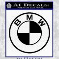 BMW Decal Sticker ALT Black Vinyl 120x120
