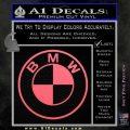 BMW Decal Sticker ALT Pink Emblem 120x120