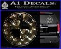 BMW Official Emblem Decal Sticker 3DChrome Vinyl 120x97
