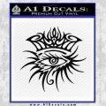 Bob Dylan Logo All Seeing Eye D1 Decal Sticker Black Vinyl 120x120