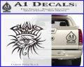 Bob Dylan Logo All Seeing Eye D1 Decal Sticker Carbon FIber Black Vinyl 120x97