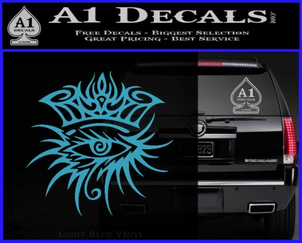 Bob Dylan Logo All Seeing Eye D1 Decal Sticker 187 A1 Decals