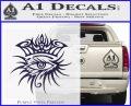 Bob Dylan Logo All Seeing Eye D1 Decal Sticker PurpleEmblem Logo 120x97