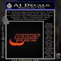 Boost Gets You Laid Decal Sticker D2 Orange Emblem 120x120