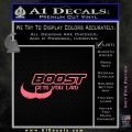 Boost Gets You Laid Decal Sticker D2 Pink Emblem 120x120