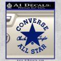 Chuck Taylor Decal Sticker Converse All Stars Blue Vinyl 120x120