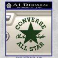 Chuck Taylor Decal Sticker Converse All Stars Dark Green Vinyl 120x120