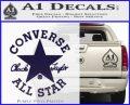 Chuck Taylor Decal Sticker Converse All Stars PurpleEmblem Logo 120x97