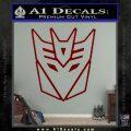 Decepticon Decal Sticker Thin DRD Vinyl 120x120