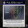 Decepticon Decal Sticker Thin Glitter Sparkle 120x120