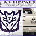 Decepticon Decal Sticker Transformers ALT PurpleEmblem Logo 120x120