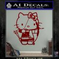 Hello Kitty Archery Compound Bow Decal Sticker DRD Vinyl 120x120