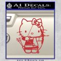 Hello Kitty Archery Compound Bow Decal Sticker Red 120x120