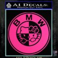Hello Kitty BMW Decal Sticker Pink Hot Vinyl 120x120