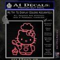 Hello Kitty Cupcake Decal Sticker D1 Pink Emblem 120x120