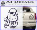Hello Kitty Cupcake Decal Sticker D1 PurpleEmblem Logo 120x97