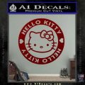 Hello Kitty Decal Sticker Intricate DRD Vinyl 120x120