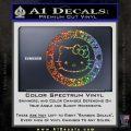 Hello Kitty Decal Sticker Intricate Glitter Sparkle 120x120