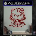 Hello Kitty Ezio Assassins Creed Decal Sticker DRD Vinyl 120x120