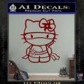 Hello Kitty Ninja Decal Sticker DRD Vinyl 120x120
