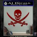 Jolly Roger Pirate Skull Decal Sticker DRD Vinyl 120x120