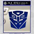 Transformers Ancient Hybrid Decal Sticker Blue Vinyl 120x120
