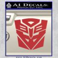 Transformers Ancient Hybrid Decal Sticker Red 120x120