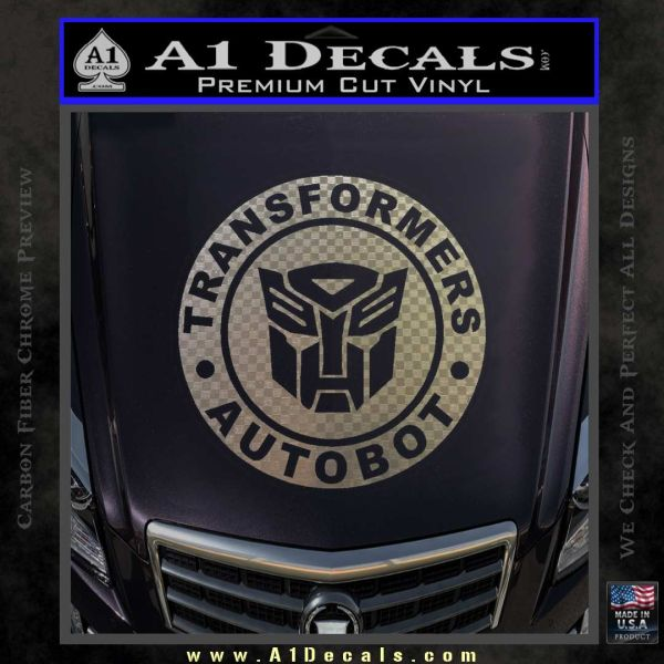 Transformers Autobot Decal Sticker Full Emblem A1 Decals