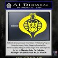 Transformers Cobra Decal Sticker Hybrid Yellow Laptop 120x120