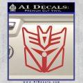 Transformers Decepticon Cylon Battlestar Galactica Mashup D1 Decal Sticker Red 120x120