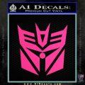 Transformers Decepticon Cylon Battlestar Galactica Mashup D2 Decal Sticker Pink Hot Vinyl 120x120