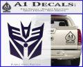 Transformers Decepticon Cylon Battlestar Galactica Mashup D2 Decal Sticker PurpleEmblem Logo 120x97