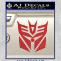 Transformers Decepticon Cylon Battlestar Galactica Mashup D2 Decal Sticker Red 120x120