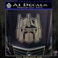Transformers Decepticon Decal Sticker New Carbon FIber Chrome Vinyl 120x120