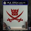 Transformers Decepticon Pirate Decal Sticker DRD Vinyl 120x120