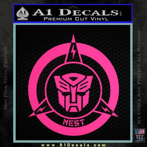 Transformers Nest Emblem D2 Decal Sticker 187 A1 Decals