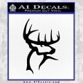 Buck Commander Decal Sticker Black Vinyl 120x120