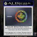 Canada Decal Sticker Glitter Sparkle 120x120