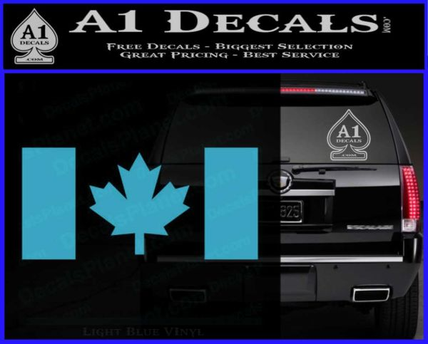 Canadian Flag Decal Sticker A Decals - Vinyl decal stickers canada