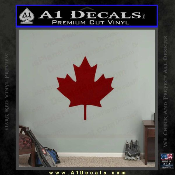 Canadian Maple Leaf Decal Sticker A Decals - Vinyl decal stickers canada