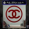 Chanel CR1 Decal Sticker DRD Vinyl 120x120