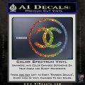 Chanel CR1 Decal Sticker Glitter Sparkle 120x120