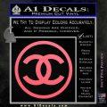 Chanel CR1 Decal Sticker Pink Emblem 120x120