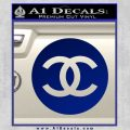 Chanel CR2 Decal Sticker Blue Vinyl 120x120