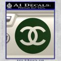 Chanel CR2 Decal Sticker Dark Green Vinyl 120x120