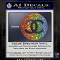 Chanel CR2 Decal Sticker Glitter Sparkle 120x120