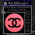 Chanel CR2 Decal Sticker Pink Emblem 120x120